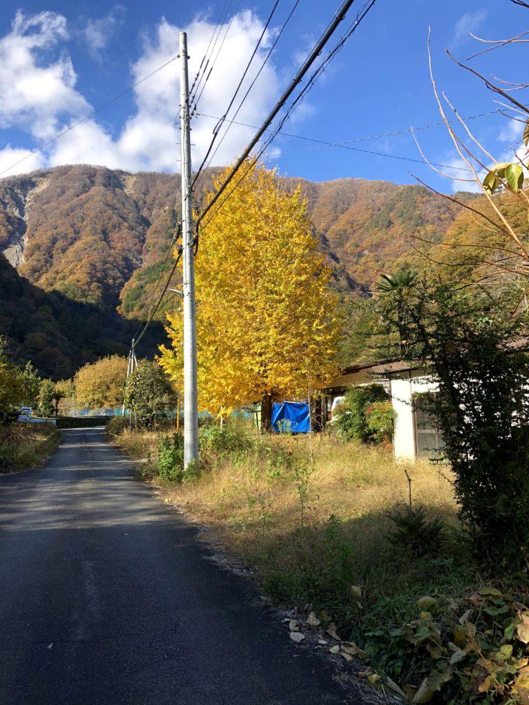 早川町古民家解体イベント-散策4